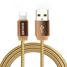Fast charging USB cable,Flat spring cable 30cm ,1.5m , 2m USB data cable for samsung mobile phone for Iphone