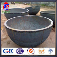 bult welded seamless carbon steel cap/ ends astm a234 WPB ANSI B16.9 pipe fittings from factory