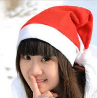 New Year Adult And Child Christmas Hat Caps Santa Claus Father Xmas Cotton Cap Christmas Decoration