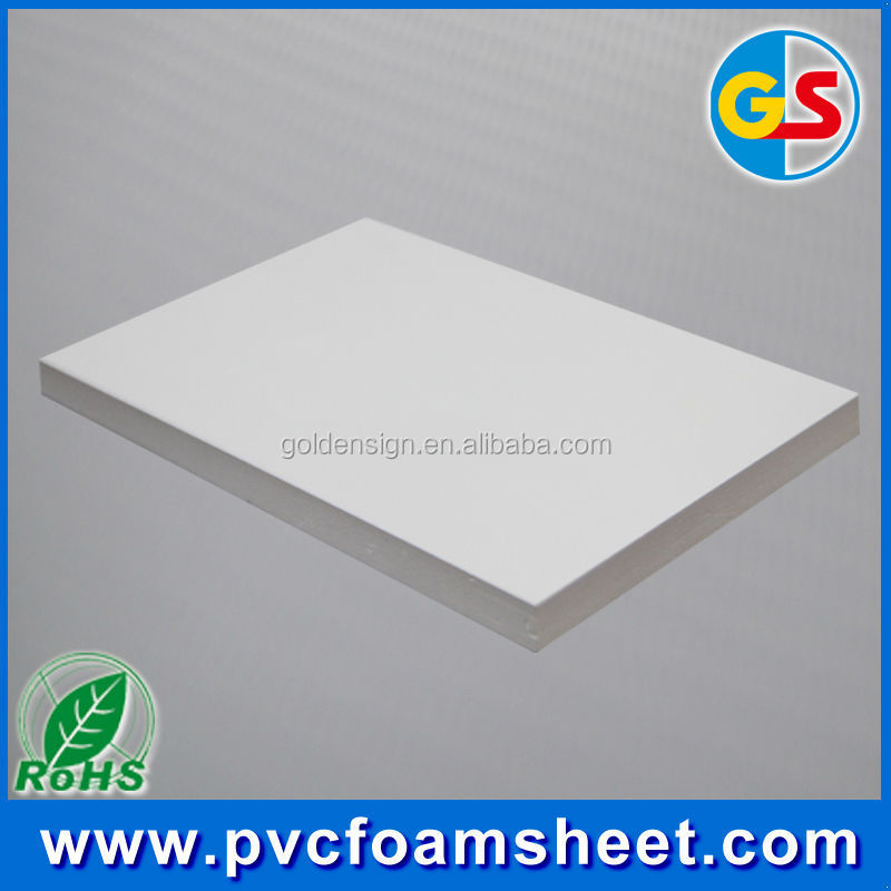 20mm thickness white PVC foam sheet / PVC foam board for bathroom kitchen cabinet