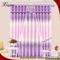 XIANA PT0631 hot sale Euro-market fashion polyester fabric designs curtain
