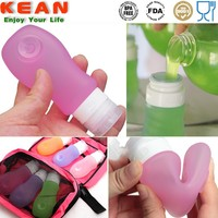 Convenient Silicone Empty Lotion Bottles Free BPA
