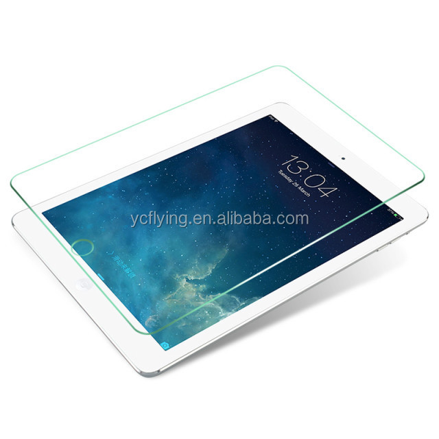 New arrival 0.3mm 9H antishock anti -fingerprint tempered glass screen protector for ipad mini 2