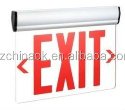 UL Emergency exit sign