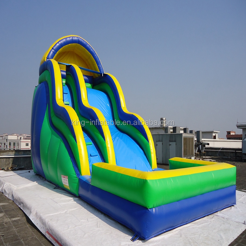 Happy Hop Custome Inflatable Water Slide And Pool Water Slide Park From China