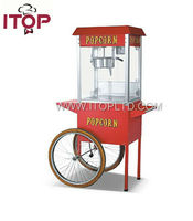 8Oz Commercial wheel popcorn machine