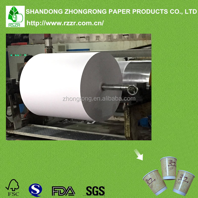 Foctory directly wholesale poly coated paper for cup