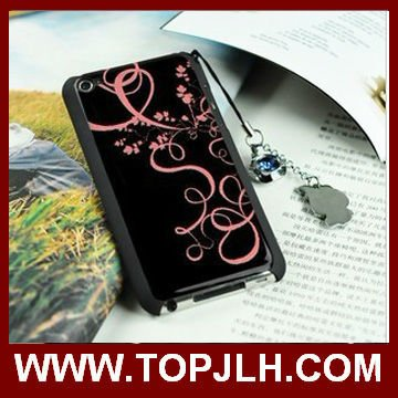 2013 DIY sublimation case for i Pod touch 4 with Aluminum Metal sheets