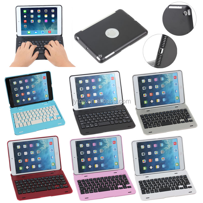 Aluminium Bluetooth Keyboard Case For iPad Mini 3