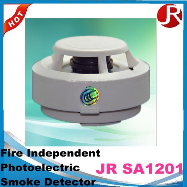 Hot Independent 9V Battery Operated Fire Alarm Photoelectric Smoke Detector