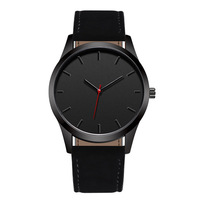 WJ-7126 Simple Watches for Men Leather Band Fashion Unique Factory Direct Wrist Man Watch