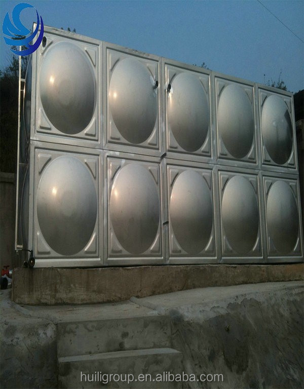 Customized 304 drinking water Stainless steel pressure water tank