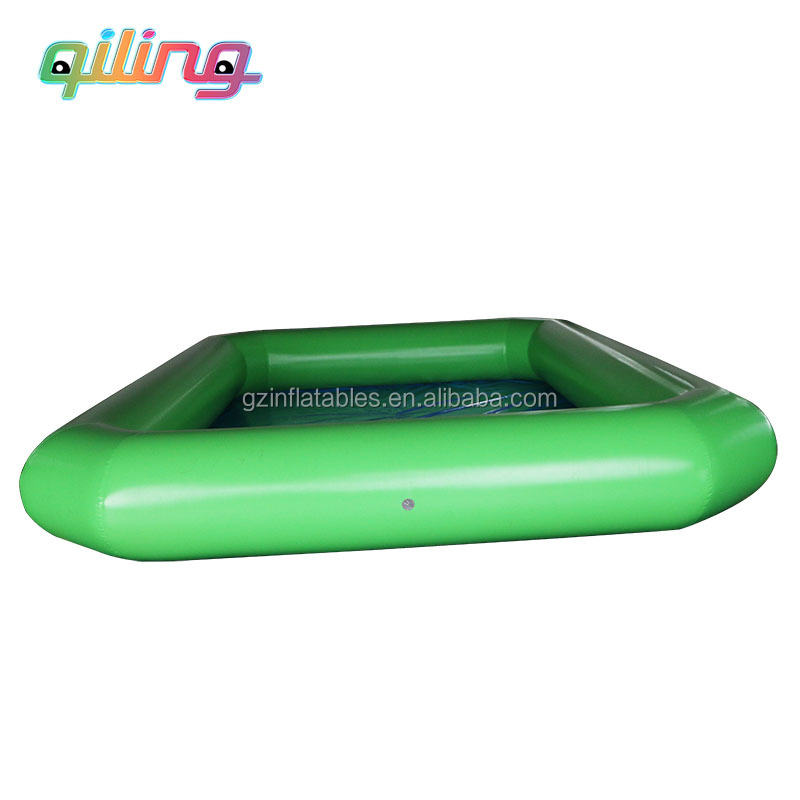 Giant folding PVC water pool for kids ball games playground,inflatable paddling pool