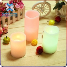 Wisdom Victory Acrylic led window candle lights, led candle with remote control,led flameless candle