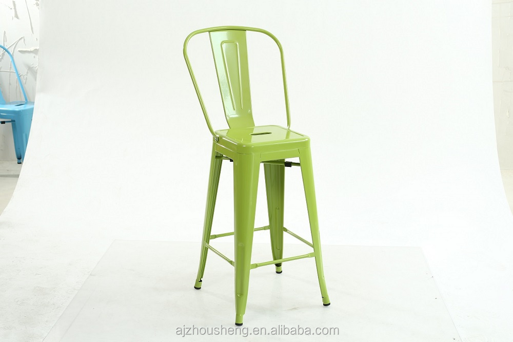 Wholesale high quality bar furniture metal bar stools/bistro chair