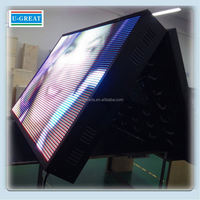 electronic outdoor led electronic panel hair salon led sign