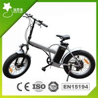 20Inch ebike fat tire beach cruiser electric bike