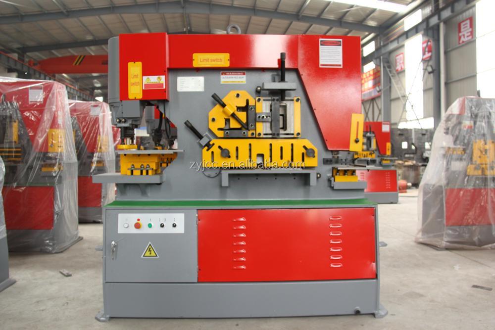 hydraulic punch shearing machine ironworker for sale.JPG