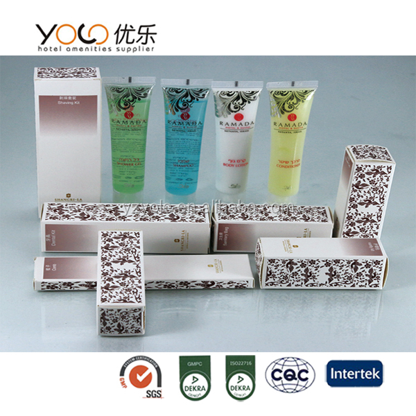 high quality cosmetic packaging innovative products in hotel