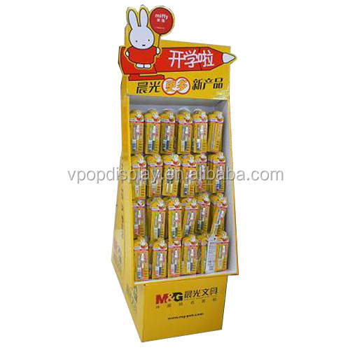 Alibaba Hot Sale Product Promotion Cardboard Hanging Disply Stand for Pen
