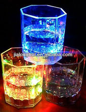 Led cups/flashing cups/Flashing whiskey cups