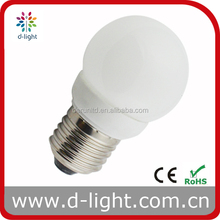 sphere 2.6w LED bulbs plastic E27 E14 180 degree