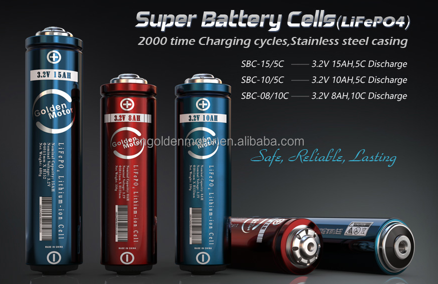High quality electric bike battery LifePO4 Lithium batteries with BMS