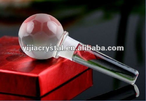 Wedding favor Glass Crystal Wine Bottle Stopper For Crystal Xmas Gifts