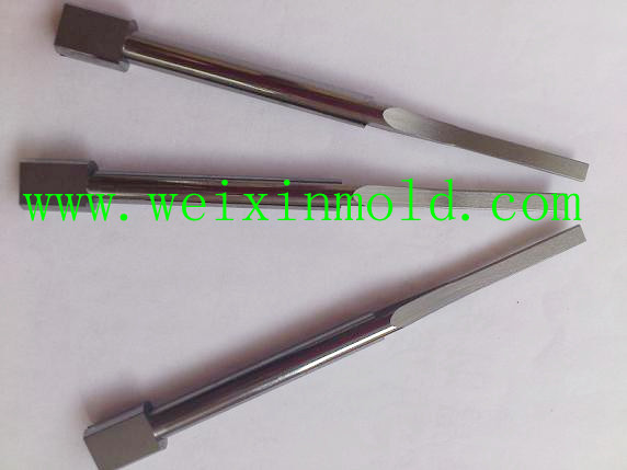 PG optical grinding parts. WC carbide punch pin