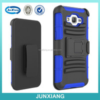 Kickstand Heavy Duty Combo Silicon Robot Case For Samsung G580
