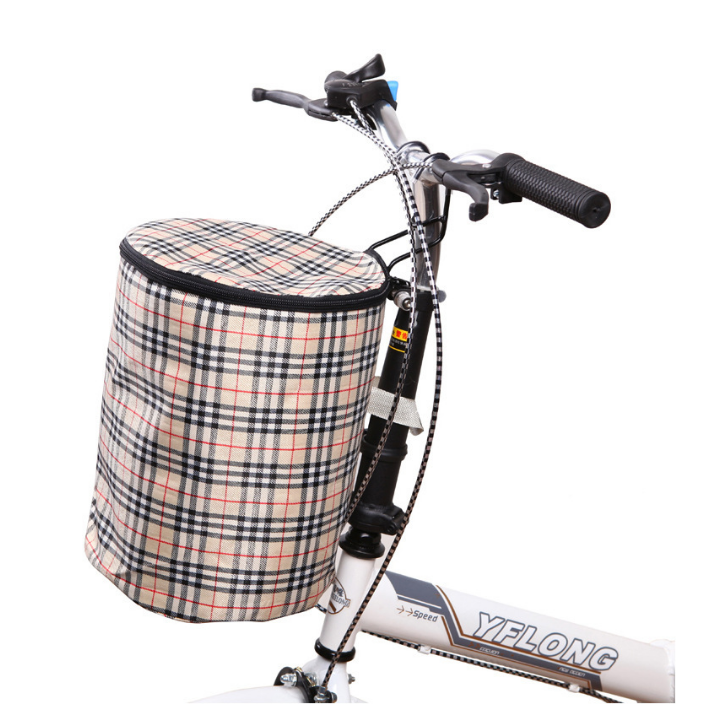 Hot sale high quality custom FREE Sample bicycle basket Folding Bicycle Front Basket