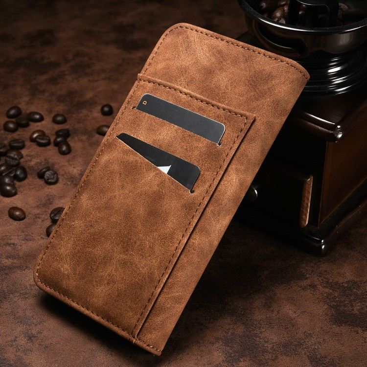 New Customized Leather Flip Cover Phone Case for Apple iPhone 7 plus Skin