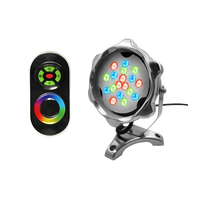 Wholesale IP68 led swimming pool lamp 18w RGB underwater light