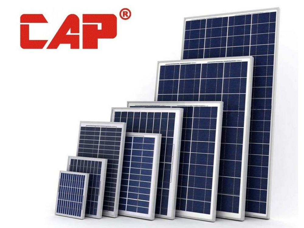 GZ CAP solar panel production line producing solar poly pv panel 10w 20w 30w 50w 80w 130w 280w 300w