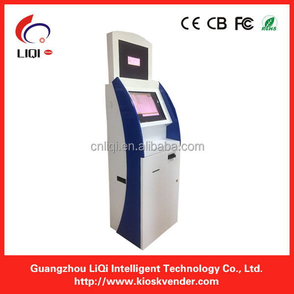 Bitcoin ATM payment kiosk machine with A4 printer in USA market