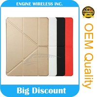 Wholesale Fashion Cases Smart Cover for ipad 4 case, for ipad mini4 case