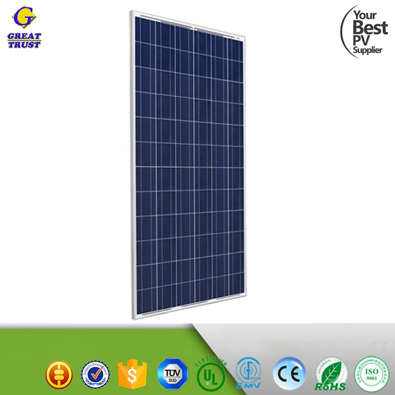 New 2017 4bb poly 260w 240 watt photovoltaic solar panel