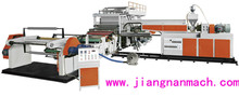 High Speed Automatic Electrical Power Hot Melt Coating Cast Film TPU Extrusion Laminating Machine with Factory Price