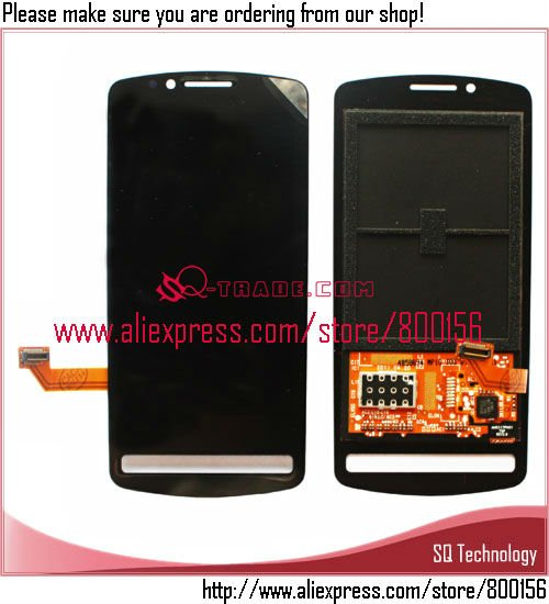 Replacement LCD For Nokia 700 N700 Digitizer Assembly Black And White Color