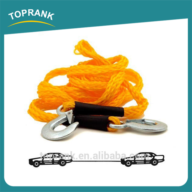 Auto Emergency Tool 4.2m braided nylon car towing rope