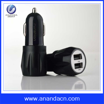 New design 2.1A dual port usb car charger for all the devices