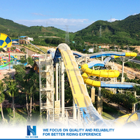 Hot sell New design inflatable floating water slide for sale