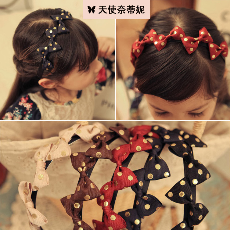 S32157W Children hair accessories hot sale unique design beautiful kids girl hairbands wholesale