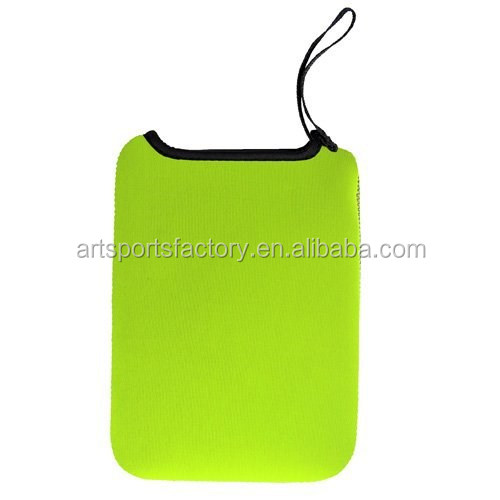 factory price 7.5inch neoprene tablets case with wrist strap