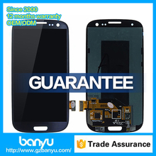 100% original black lcd glass for samsung galaxy s3 i9300 display