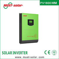 < Must Solar> PV1800 HM series high frequency 3kva 230v inverter with mppt solar charge controller inside