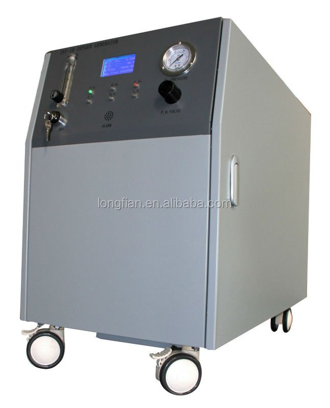 Oxygen Generator with high pressure and purity indicator