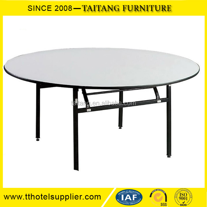 Top quality round banquet folding dining table for sale for Best quality dining tables
