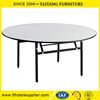 Top Quality Round Banquet Folding Dining Table for Sale