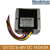DC DC converter 12v to 48v, 1A/2A/3A/5A, Manufacturer, Customization available